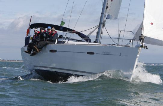 Astraea sailing day