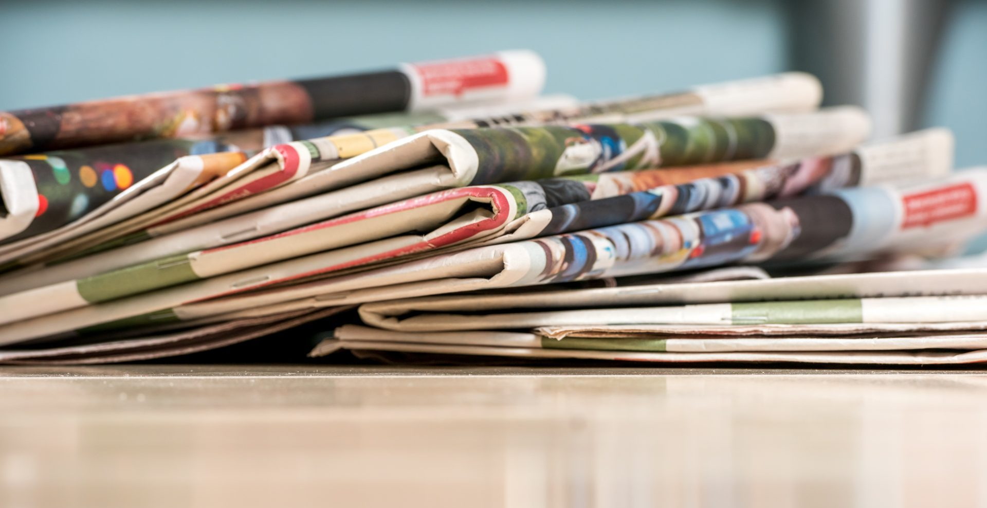 bunch of newspapers