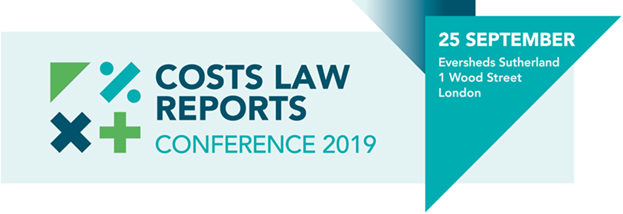 Costs Law Reports Conference 2019