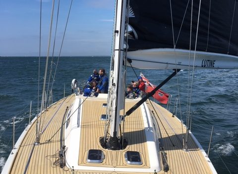 Temple Legal Protection sailing day - May 2019