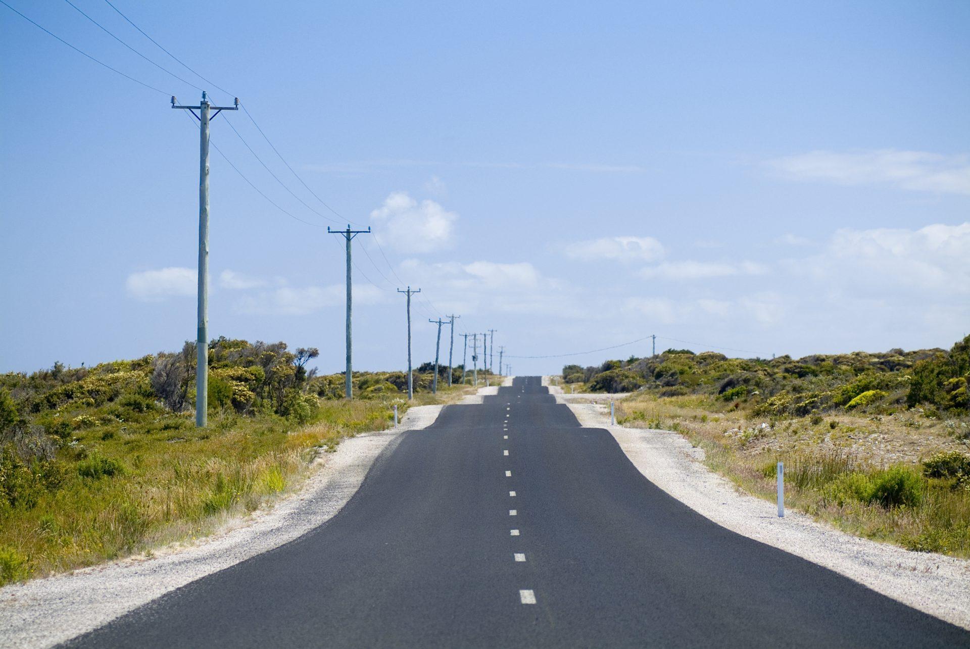 Bumpy road image