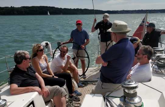 Image of the Lutine sailing event on the Solent
