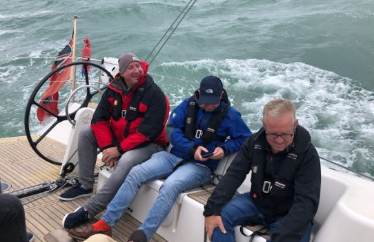 Sailing day in the solent 2