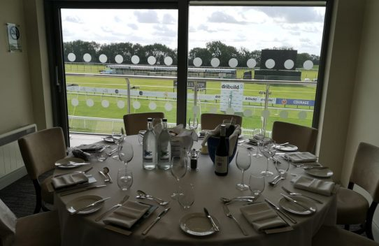 Executive box at Bath races
