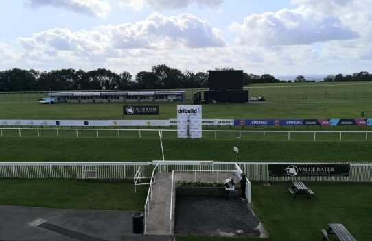 view overlooking bath racecourse
